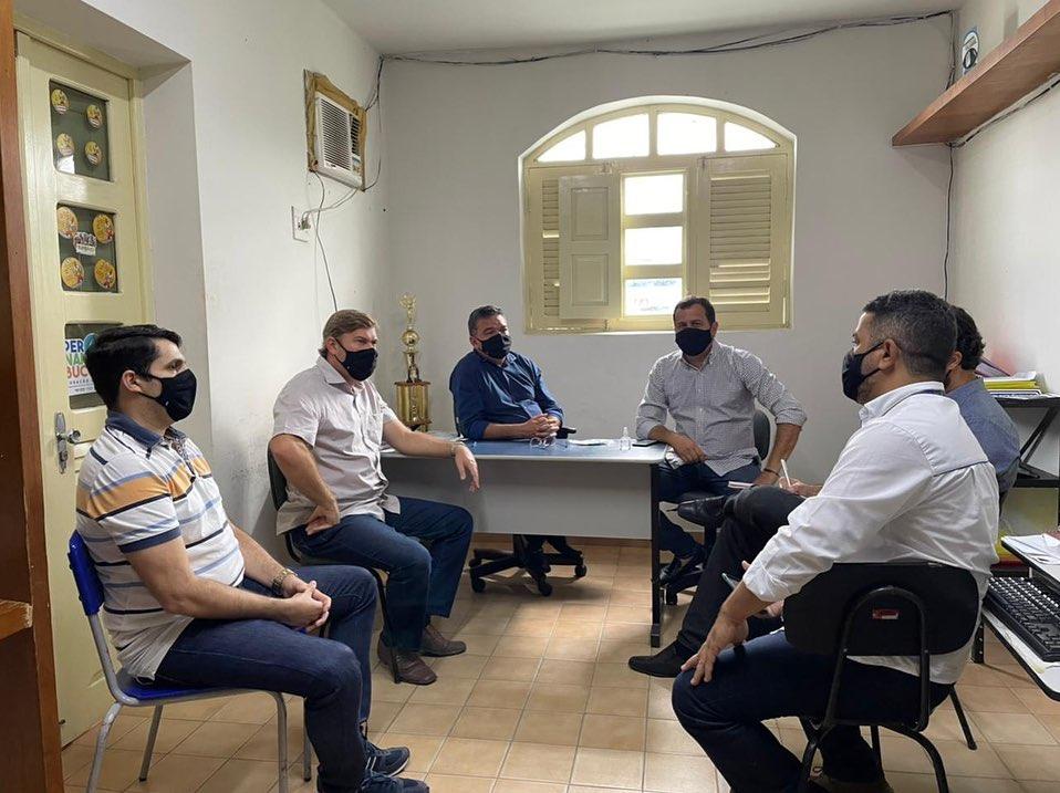 Reunião sobre segurança