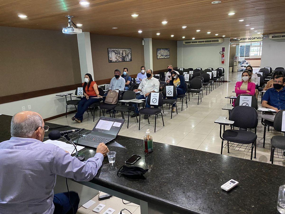 Reunião na Sede do CESPAM para a construção do Plano Plurianual/Exercício de 2022 a 2025